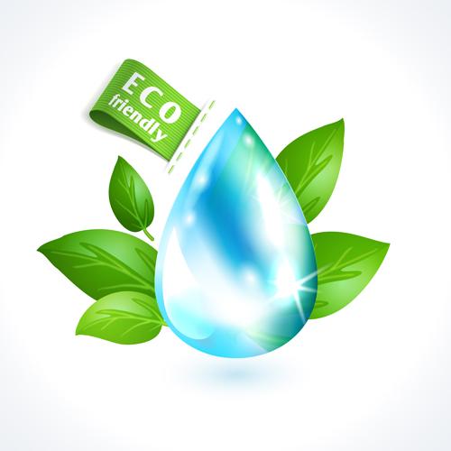 eco friendly logos creative vector design 05 - vector logo free