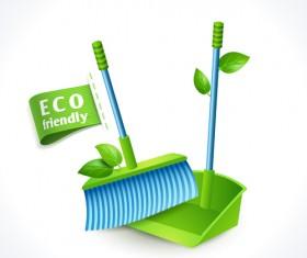 Eco friendly logos creative vector design 07