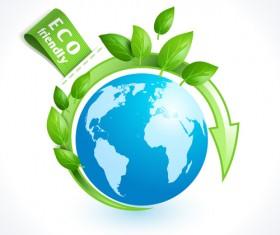 Eco friendly logos creative vector design 08