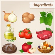 Link toHuge collection of various food icons vector 03
