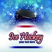 Link toIce hockey creative poster vector material