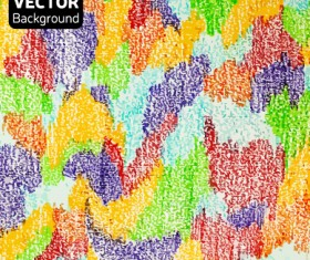 Messy watercolor art background vector 02