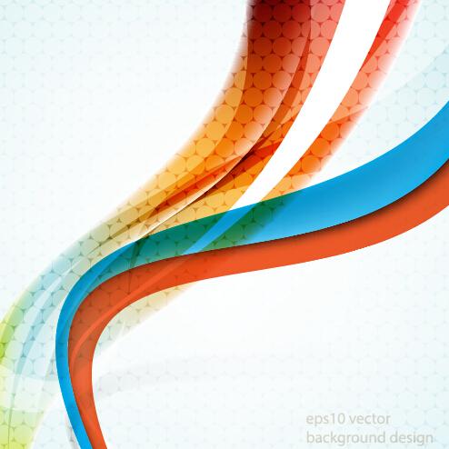 Minimalistic dynamic wave background vector 01