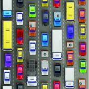 Link toModern traffic jam vector design 04