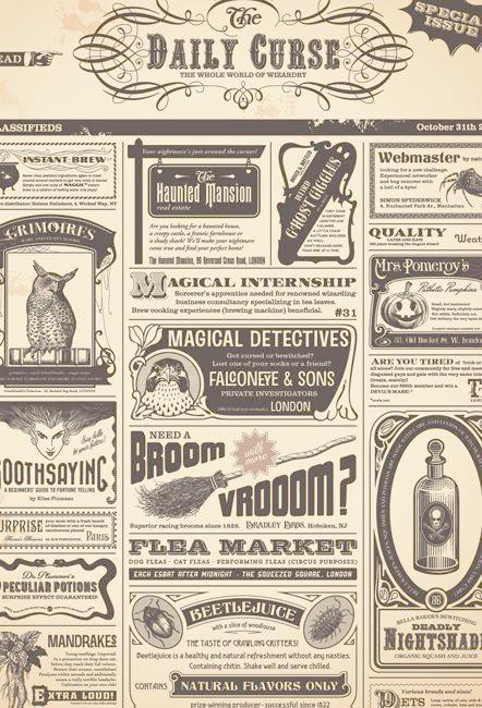 newspaper retro vector template
