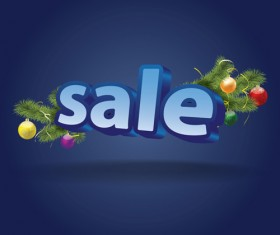 Promotional discounts 3D background vector 03