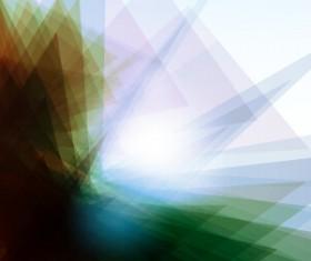 Shiny fantasy polygonal background vector art 01