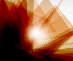 Shiny fantasy polygonal background vector art 02