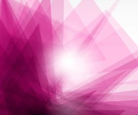 Shiny fantasy polygonal background vector art 03