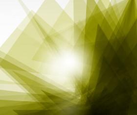 Shiny fantasy polygonal background vector art 04