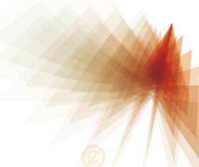 Shiny fantasy polygonal background vector art 06