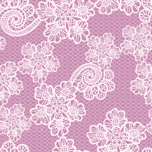 Simple lace art background vector 05