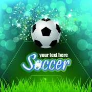 Link toSoccer creative poster vector material