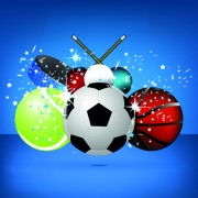 Link toSports ball vector background art