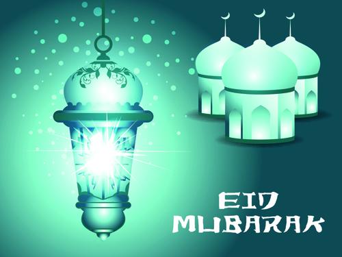 Vector background Eid Mubarak Islamic design 01