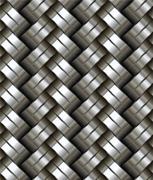 Vector pattern metallic backgrounds 01