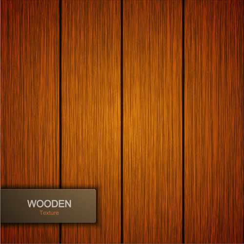 Wooden texture background design vector 02