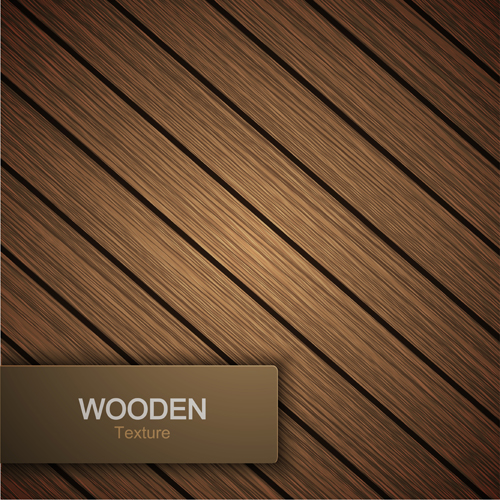 Wooden texture background design vector 04