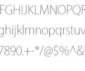 ios style creative fonts