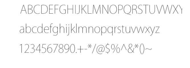 ios style creative fonts free download