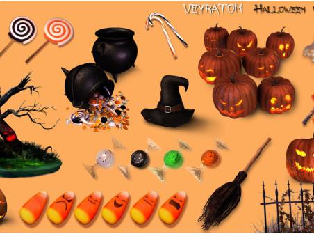 Sweet Halloween icons