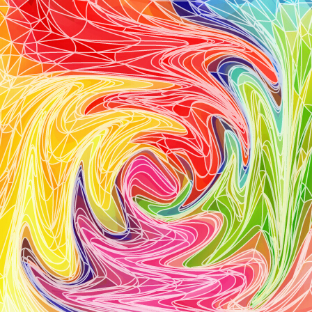 Abstract artistic effect colorful vector background 05