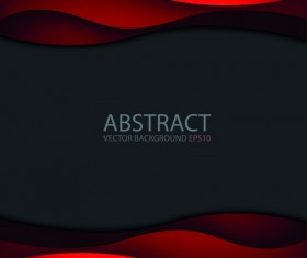 Abstract layers wave art background 07