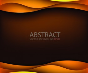 Abstract layers wave art background 08