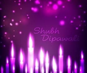 Beautiful happy diwali backgrounds vector 11