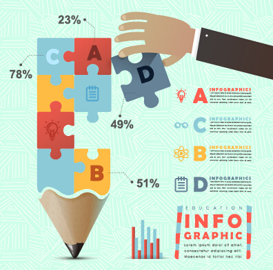 Business Infographic creative design 2337