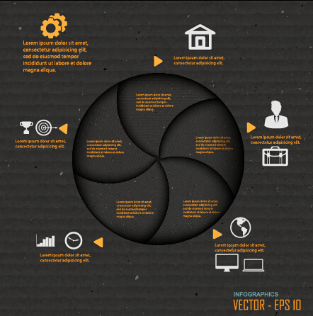 Business Infographic creative design 2379