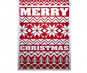 Christmas snow seamless pattern vector