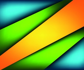Colored layers pattern background vector 01