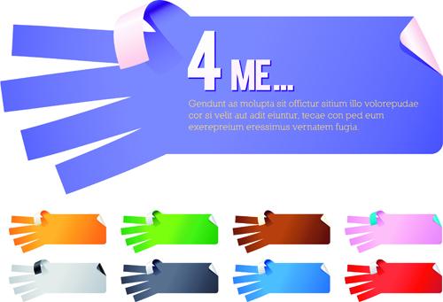 Creative hand gesture sticker vector 04