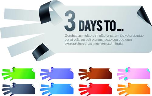 Creative hand gesture sticker vector 05