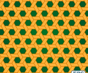 Interweave pierced vector seamless pattern 01