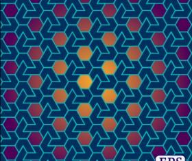 Interweave pierced vector seamless pattern 02