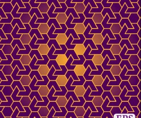 Interweave pierced vector seamless pattern 03