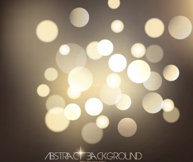 Light dot with background vector