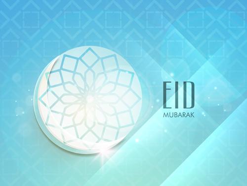 Mubarak Islam background design vector 08