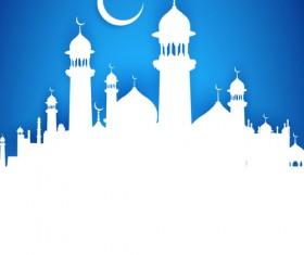 Mubarak Islam background design vector 15