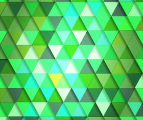 Shiny colored triangle pattern vector 03