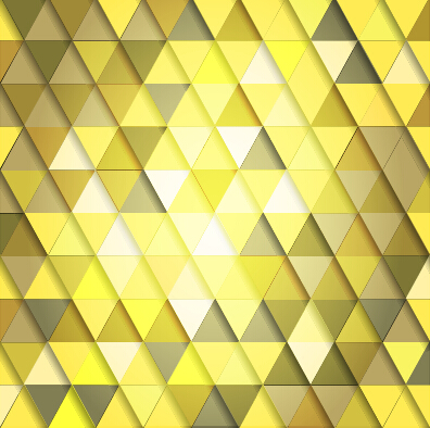 Shiny colored triangle pattern vector 05