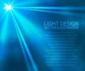 Sun light design vector background 01