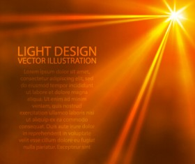 Sun light design vector background 02