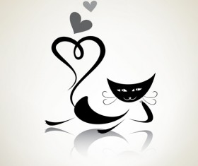 The offbeat cats vector design 03