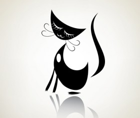 The offbeat cats vector design 04