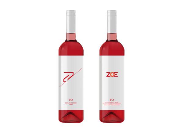 CMYK Wine Bottle Label Designer Gift Graphic Designer's ... |Wine Bottle Graphic Design