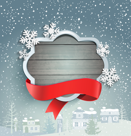 Winter christmas and new year frame backgrounds 04
