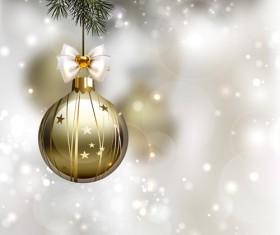 Xmas baubles shiny holiday background art 03